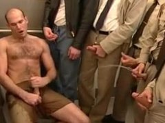 Guy jerking off on pissing - Gay Ass Movies.mp4