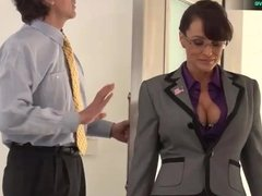 Lisa Ann hardcore fuck with her boss