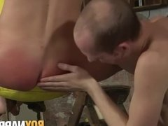 Sean Taylor and Michael Wyatt have fun with kinky sex toys