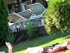 Big Ass Thongs Sexy teens Tanning beach Voyeur HD Spycam Vid