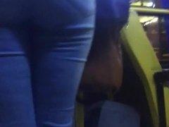 Delicia rabuda de jeans