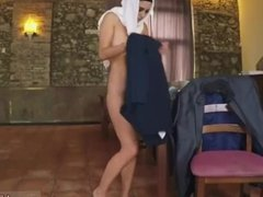 Arab huge tits Hungry Woman Gets Food and