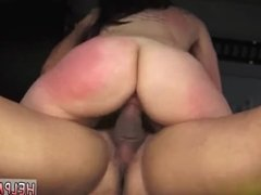 Mistress dominates slave with strapon and