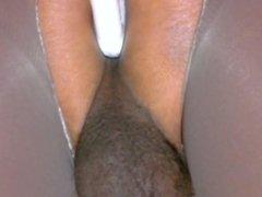 crossdresser pantyhose dildo fuck ass 025