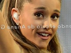 ARIANA GRANDE - Licking the ass of Ariana Grande