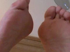 Bare Feet In The Air