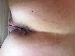 Husband fucks my used pussy