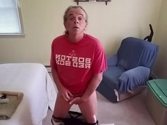 robert bryan begins his butt plug training