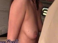 Teen masturbation big tits car first time