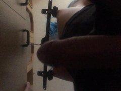 self nipple torture and spank