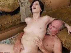 Ugly old granny man hotel anal Frannkie