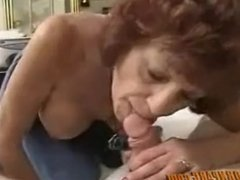 Old lady Blowjob