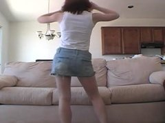 Cute Young Teen Dance and Strip