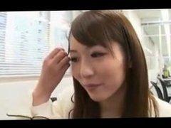 Japanese Yuu Asakura Office Blowjob