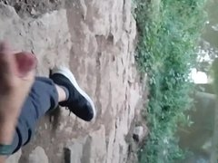 Cumming fun at the river
