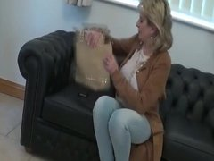 Lady Sonia Gives A Blowjob To Become A Model
