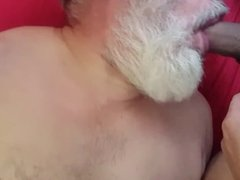 latino twink sucked off by UK daddy (swallow)