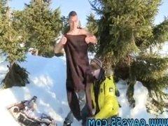 Big cock guy homo gay sex xxx Snow Bunnies