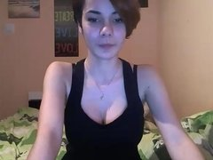 Perfect cutie with perfect boobs