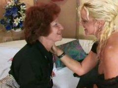 German granny lesbians loving anal