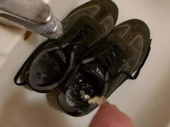 Piss in wifes sneakers