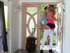 Teen workout hd and blonde gets caught