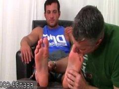 Free gay foot fetish thumbs Marine Ned