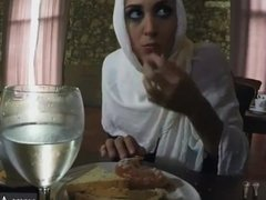 Arab girl dp xxx Hungry Woman Gets Food and