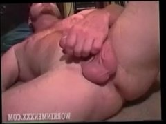 Homemade Video of Mature Amateur Red Jacking Off