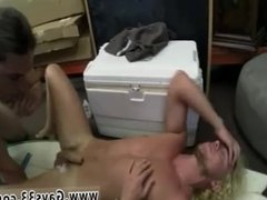 Straight man first time gay blowjob chad Of