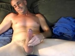 Huge Daddy Self Suck And Cum