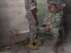 Military gay thugs xxx two naked male