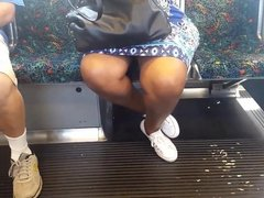 Ebony Granny on the Train, Free On the Train HD Porn 80 es.f
