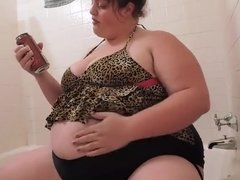 Fat Pig bloated burping