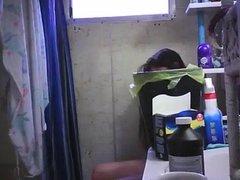 Hidden Cam in Bathroom