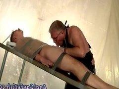 Thong boy bondage gay His spear is gargled