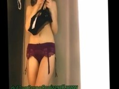 Perfect Tits Girl Naked On Fitting Room Hidden Cam