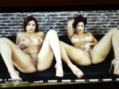 Cum Tribute Preeti and Priya Young