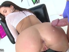 Megan Rain enjoys big dick anal fuck