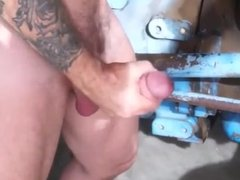 Huge Daddy Fucking Tight Ass