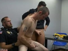 porno gay homo sex party police men