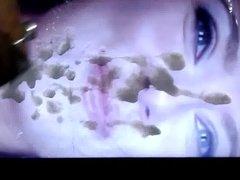Cum Tribute 01 to Scarlett Johansson Gif tribute