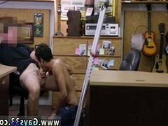 Straight teen shoots big load of cum and