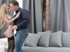 Teen slut Sonya gets ready to show her man a good time