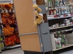 Creep shots Huge ass Wal-Mart employee revisted part  1 of 2