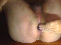 Liebesperlen anal, Banane im Arsch