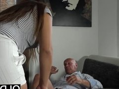 Young Old Porn Teen Big Natural Tits Fucked and facialized