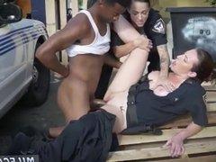 Milf boss seduces employee hot licking
