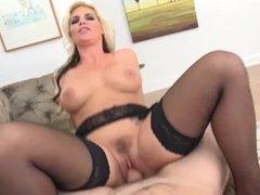 TrenchcoatX - Phoenix Marie sucks and rides cock POV
