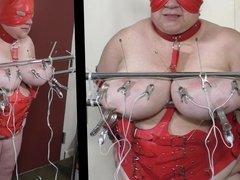 07-Aug-2017 Tit Torture of the slut slave Part 2